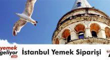 İstanbul yemek siparişi sitesi